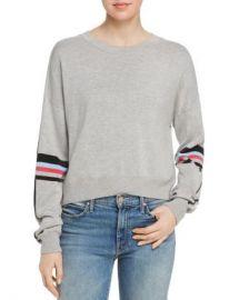 AQUA Striped-Sleeve Sweater - 100  Exclusive  Women - Bloomingdale s at Bloomingdales