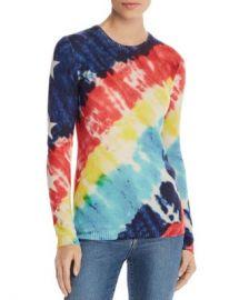 AQUA Tie-Dye Star-Sleeve Cashmere Sweater - 100  Exclusive  Women - Bloomingdale s at Bloomingdales