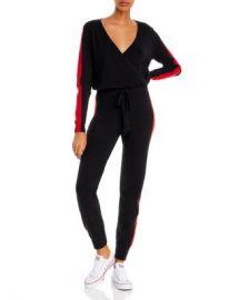AQUA Track Stripe Jumpsuit - 100  Exclusive  Women - Bloomingdale s at Bloomingdales