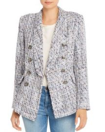 AQUA Tweed Double-Breasted Blazer - 100  Exclusive  Women - Bloomingdale s at Bloomingdales