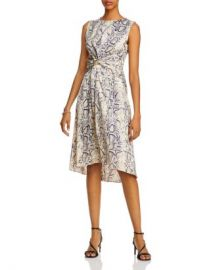 AQUA Twisted Snake Print Dress - 100  Exclusive Women - Bloomingdale s at Bloomingdales