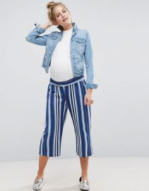 ASOS MATERNITY Stripe Pant at Asos