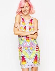 ASOS  ASOS WALLS Embellished Mini Dress at Asos