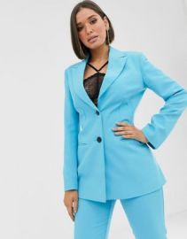 ASOS DESIGN pop waisted suit blazer   ASOS at Asos