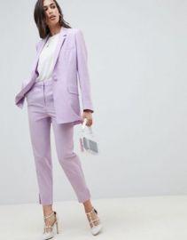 ASOS DESIGN tailored lilac occasion blazer at asos com at Asos