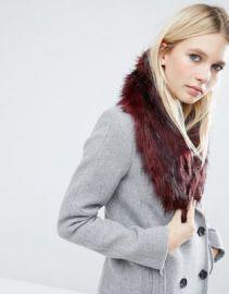 ASOS Faux Fur Mini Slot Through Collar at asos com at Asos
