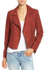 ASTR Faux Suede Moto Jacket at Nordstrom