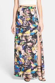 ASTR Floral Maxi Skirt at Nordstrom Rack