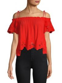 ASTR The Label - Nadia Off-The-Shoulder Top at Saks Off 5th
