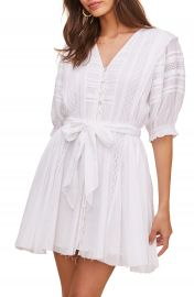 ASTR the Label Remedy Lace Inset Minidress   Nordstrom at Nordstrom