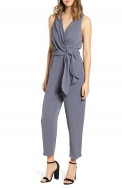 ASTR the Label Side Tie Jumpsuit   Nordstrom at Nordstrom