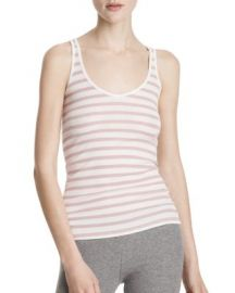 ATM Anthony Thomas Melilla Striped Ribbed Modal Tank at Bloomingdales