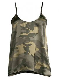 ATM Anthony Thomas Melillo - Silk Camo Cami at Saks Fifth Avenue