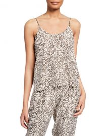 ATM Anthony Thomas Melillo Lunar Leopard-Print Silk Camisole at Neiman Marcus