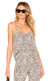 ATM Anthony Thomas Melillo Lunar Leopard Silk Cami in Lunar Combo from Revolve com at Revolve