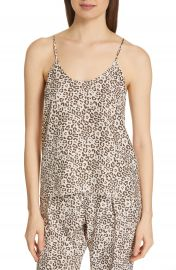 ATM Anthony Thomas Melillo Lunar Leopard Silk Camisole   Nordstrom at Nordstrom