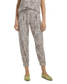 ATM Anthony Thomas Melillo Lunar Leopard Silk Jogger Pants Women - Bloomingdale s at Bloomingdales