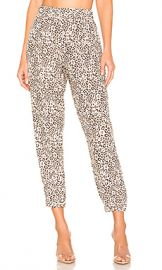 ATM Anthony Thomas Melillo Lunar Leopard Silk Jogger in Lunar Combo from Revolve com at Revolve