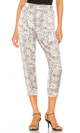 ATM Anthony Thomas Melillo Silk Snake Printed Jogger in Haze  amp  Pavement Combo from Revolve com at Revolve