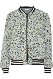 Abbot Floral Bomber Jacket by Equipment at The Outnet