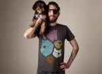 Abeds animal eyepatch tee at Threadless