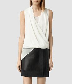 Abi Top in Chalk at All Saints