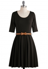 Abiding Beauty Dress in Black at ModCloth