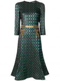 Abito herlequin print dress by Dolce & Gabbana x at Farfetch
