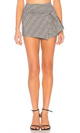 About Us Ashlee Plaid Skort in Grey Plaid from Revolve com at Revolve