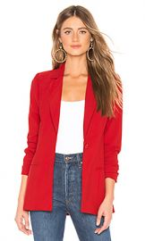 About Us Minka Blazer in Red from Revolve com at Revolve