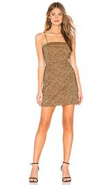 About Us Monique Printed Mini Dress in Leopard from Revolve com at Revolve