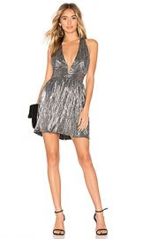 About Us Savannah Skater Dress in Silver from Revolve com at Revolve