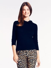 Abree sweater in black at Kate Spade
