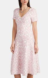Abstract-Pattern Jacquard Compact Knit Dress at Barneys