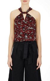 Acan Floral Cotton Top by Isabel Marant Etoile at Barneys