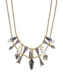 Accent Bib Necklace at Bloomingdales
