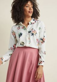 Acclaimed Originality Button-Up Top at ModCloth