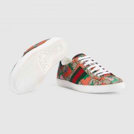 Ace GG Gucci Strawberry sneaker by Gucci at Gucci