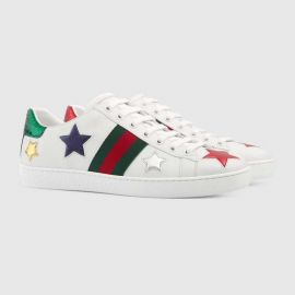 Ace embroidered sneaker at Gucci