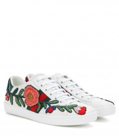 Ace leather sneakers at Mytheresa