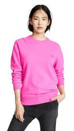 Acne Studios Nalon Face Sweater at Shopbop