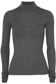 Acne Studios - Kulia ribbed merino wool turtleneck sweater at Net A Porter