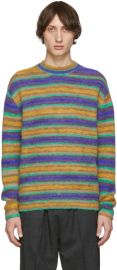 Acne Studios Striped Sweater at SSENSE
