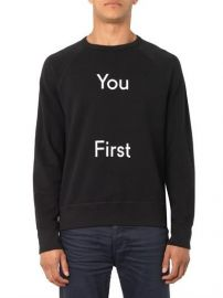 Acne Studios You First Sweatshirt at Matches