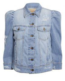 Ada Puffed Sleeve Denim Jacket at Intermix