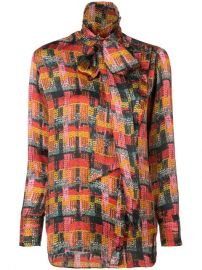 Adam Lippes Removable Scarf Blouse - Farfetch at Farfetch