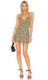 Adam Selman Sport Mini Dress in Honey Leopard from Revolve com at Revolve
