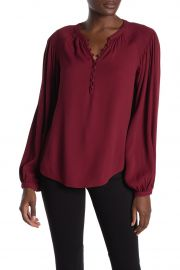Addalla Crepe Poet Blouse by Joie at Nordstrom Rack