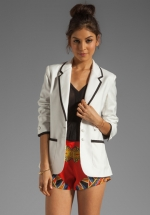 Addicted to love blazer by Lovers and Friends at Revolve