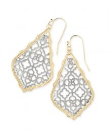 Addie filigree earrings at Kendra Scott